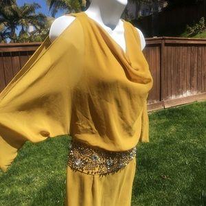Ark & Co New Cold Shoulder Dress Size Medium